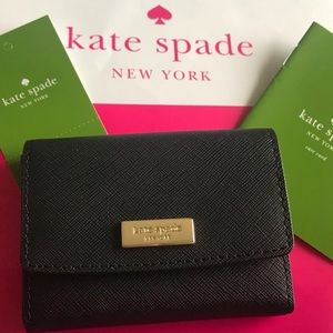 Kate Spade ♠️ Large Holly coin and card wallet